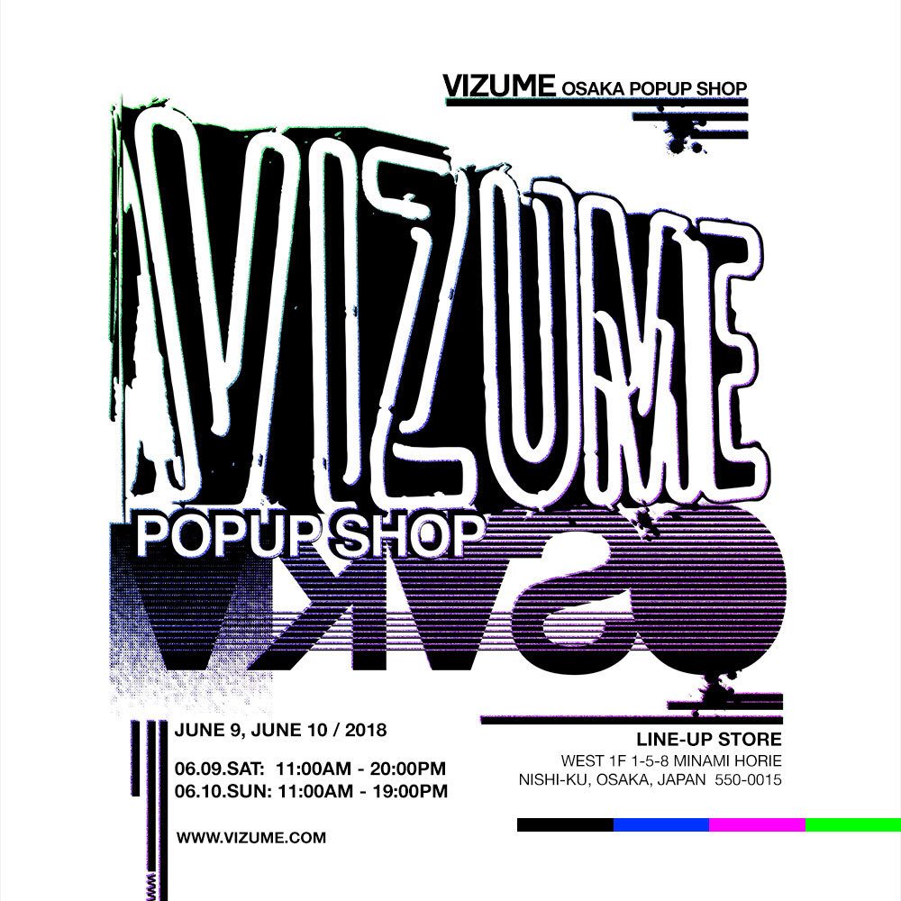 Vizume Popup Shop in Osaka, Japan